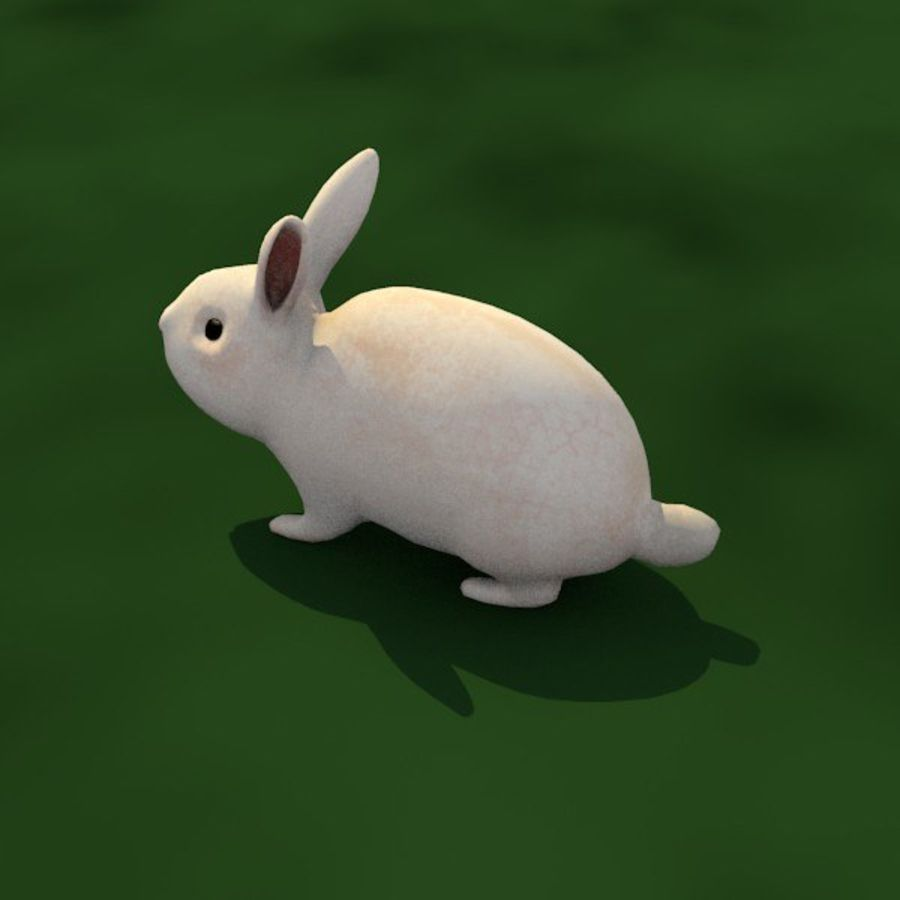 Rabbit royalty-free 3d model - Preview no. 3