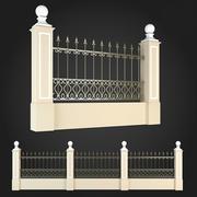 Fence 005 3d model