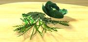 Vegetales de hoja modelo 3d