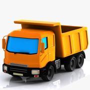 Cartoon Truck 1 3d model