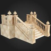 Staircase 002 3d model