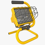 Halogen Work Light Bayco 3d model