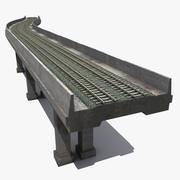 생성자 지하철 3d model