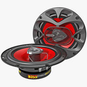 Car Speaker Boss CH6520 3d model