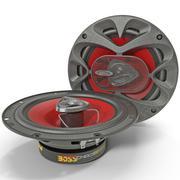 Car Speaker Boss CH6520 3d model
