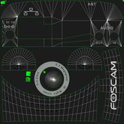 Nätverkskamera Foscam FI8910W 3d model