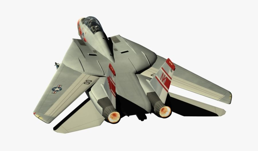 F-14A Tomcat Wolfpack royalty-free 3d model - Preview no. 5