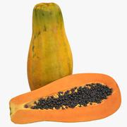 papaja 3d model