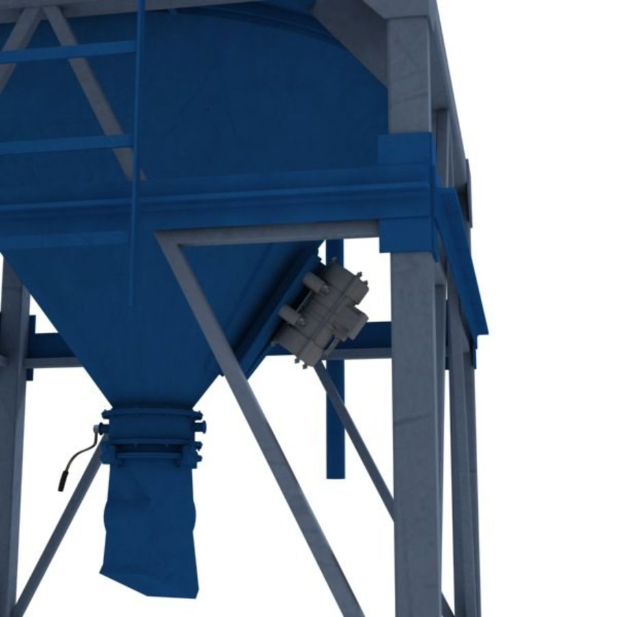 Silo royalty-free 3d model - Preview no. 2