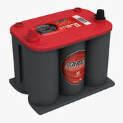 汽车电池Optima Redtop 3d model