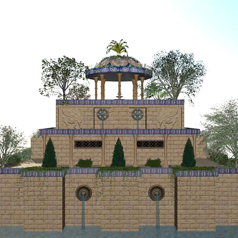 Los Jardines Colgantes De Babilonia Modelo 3d 39 Unknown 3ds