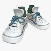 Cartoon Sneakers 3d model