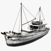 Roberta Ship 3d model
