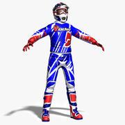 MX Rider 3d model