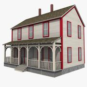 Casa de fazenda 3d model