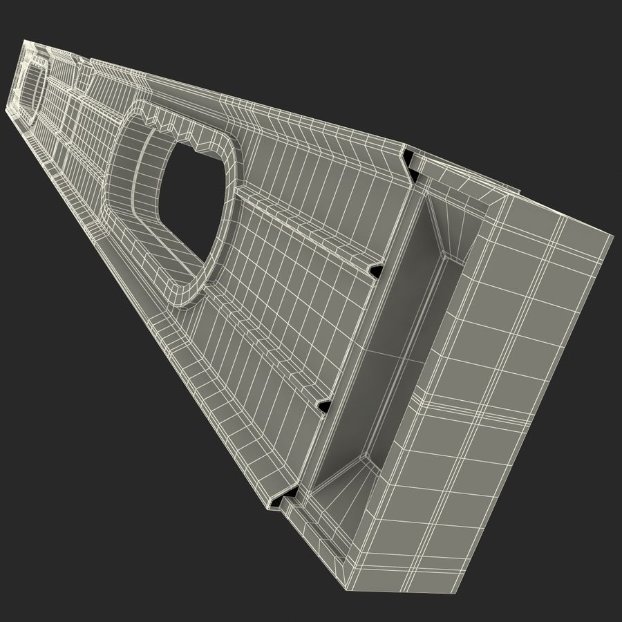 Architectural Level 2 royalty-free 3d model - Preview no. 20