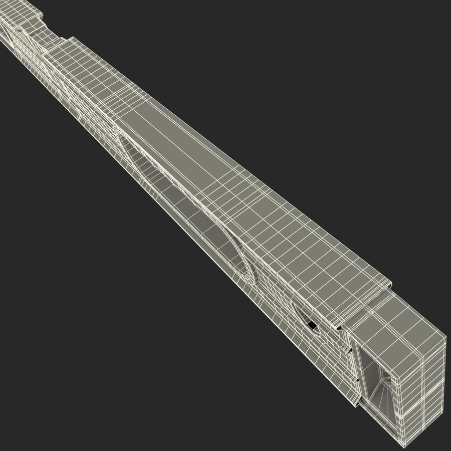 Architectural Level 2 royalty-free 3d model - Preview no. 18