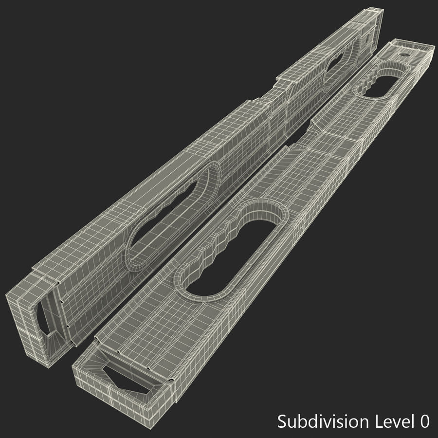 Architectural Level 2 royalty-free 3d model - Preview no. 3