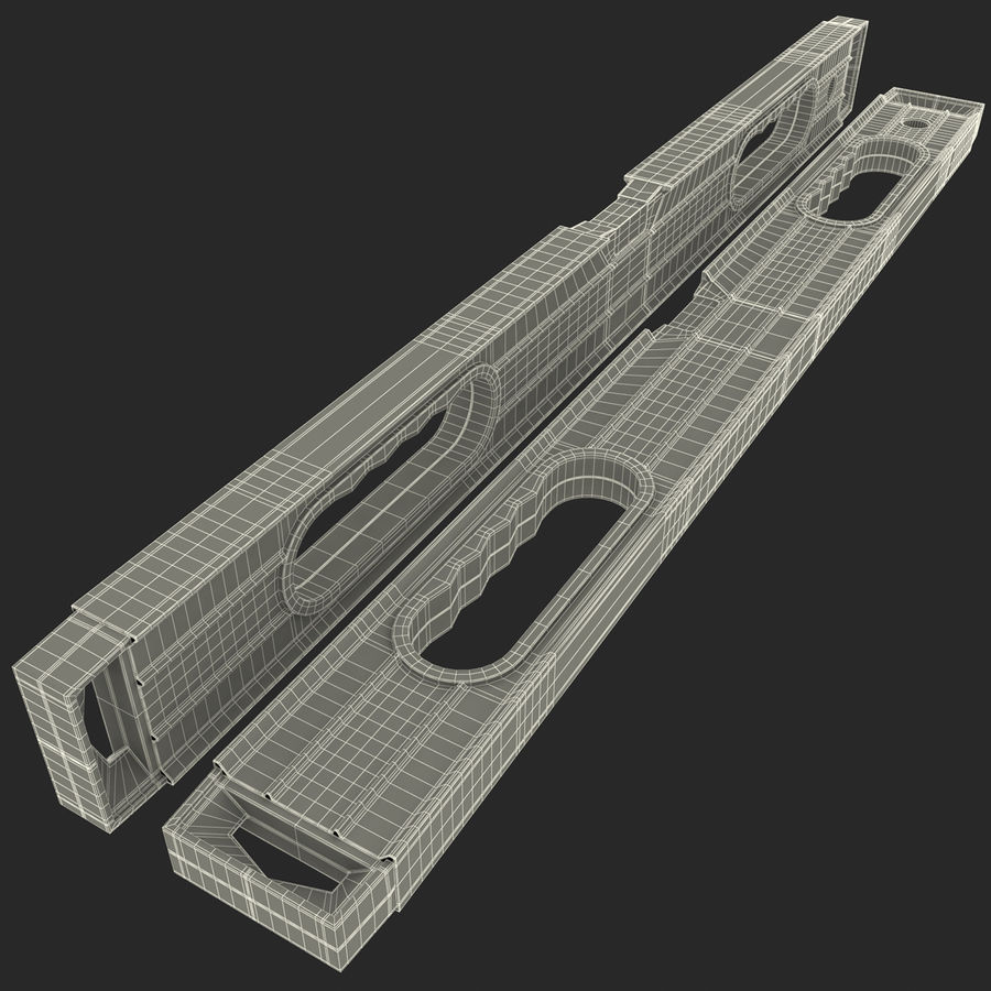 Architectural Level 2 royalty-free 3d model - Preview no. 16