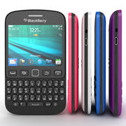 Blackberry 9720 Smartphone All Available Colors 3d model