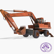 Escavadeira EO4321 3d model