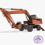 掘削機EO4321 3d model