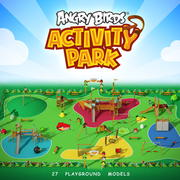 游乐场愤怒的小鸟玩公园 3d model
