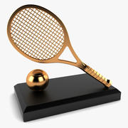 Tennis Trophy 3d model
