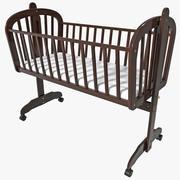 Baby Cradle DaVinci Futura 3d model