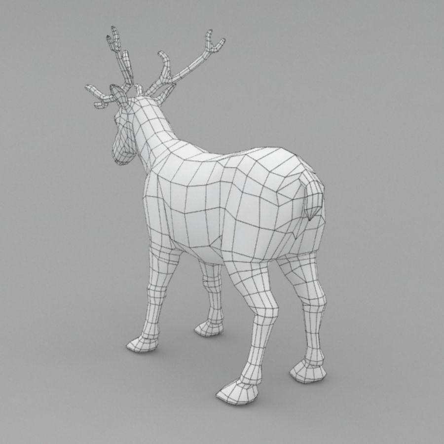 Анимированные олени royalty-free 3d model - Preview no. 9