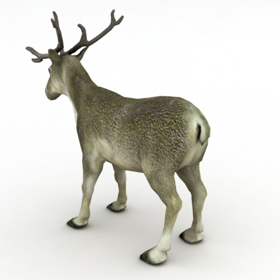 Reindeer Animated royalty-free 3d model - Preview no. 6
