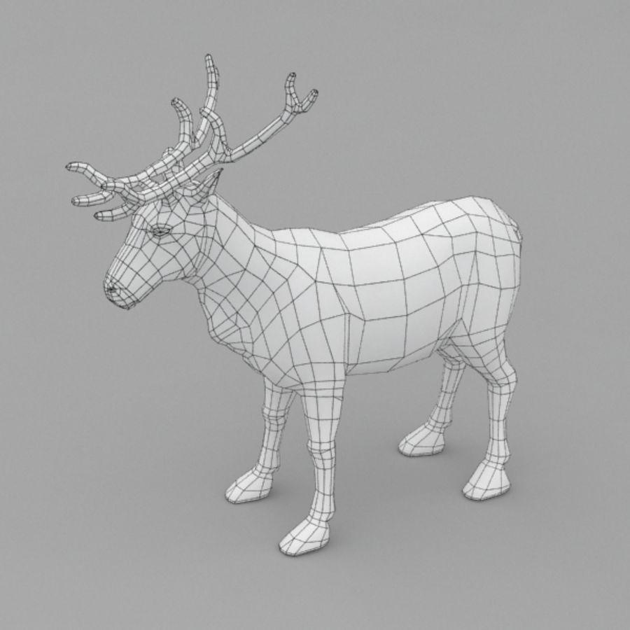 Анимированные олени royalty-free 3d model - Preview no. 8