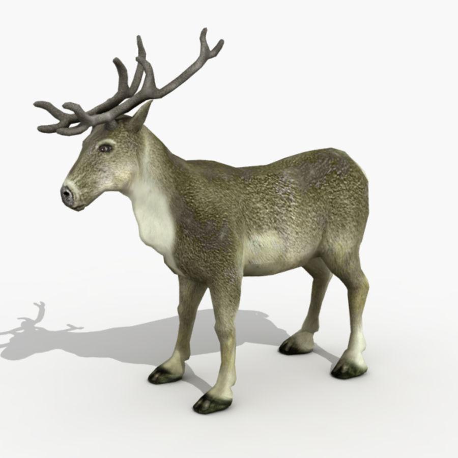 Анимированные олени royalty-free 3d model - Preview no. 2