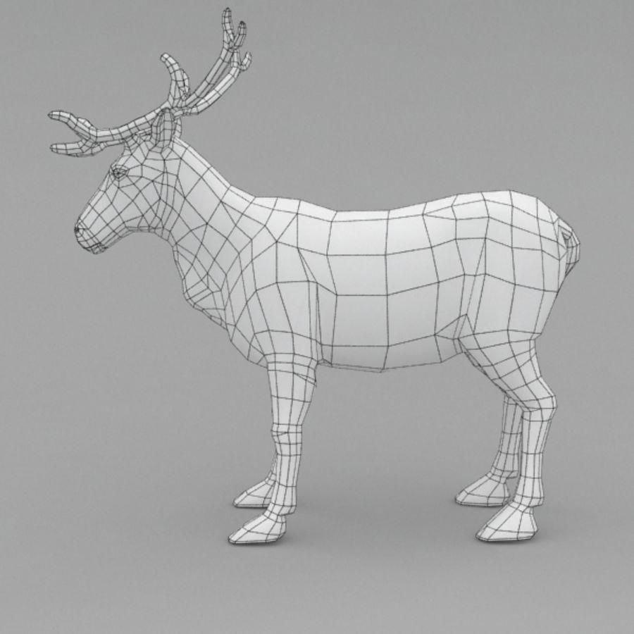 Анимированные олени royalty-free 3d model - Preview no. 11