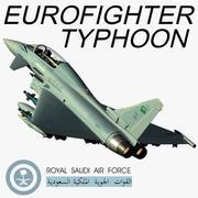 Eurofighter Typhoon RSAF 3d model
