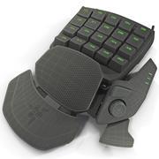 Tastiera Gaming Elite Razer Orbweaver 3d model