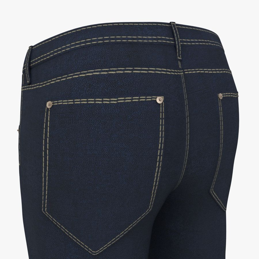 Jeans de hombre royalty-free modelo 3d - Preview no. 4