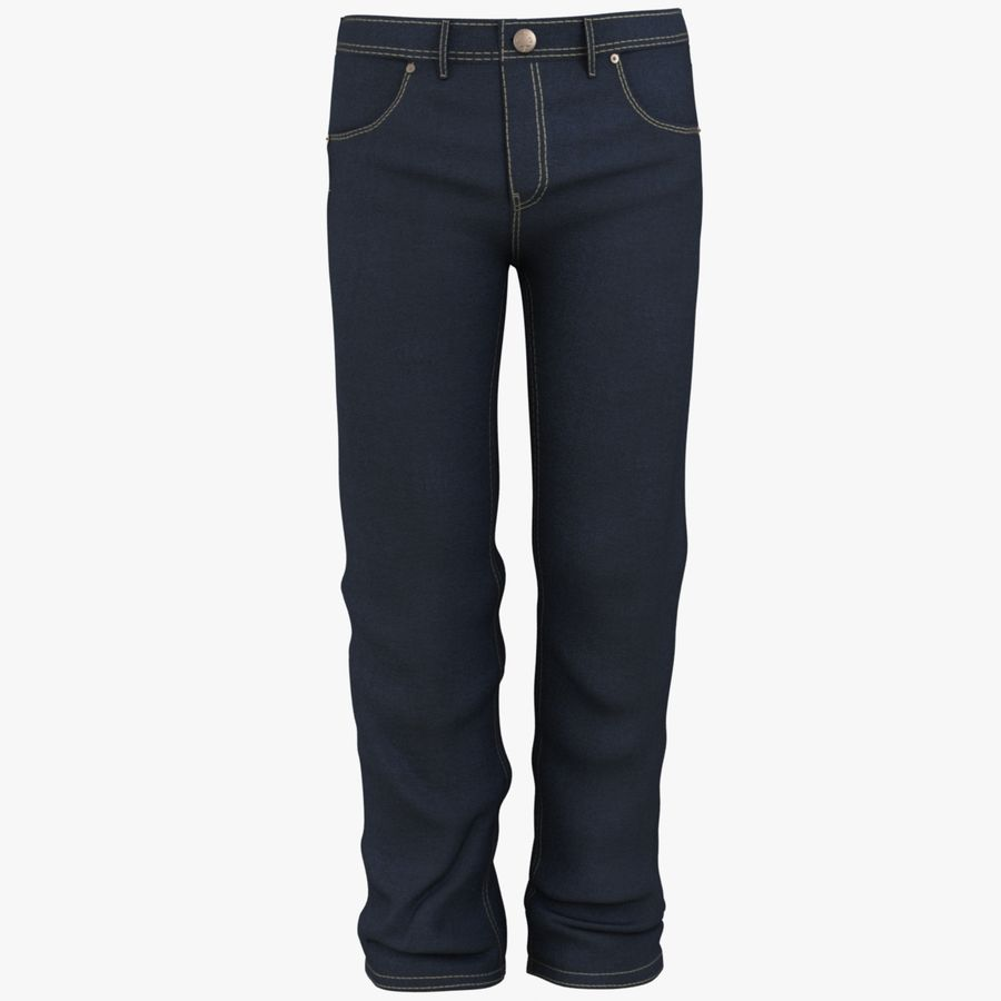 Jeans de hombre royalty-free modelo 3d - Preview no. 5