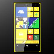 诺基亚Lumia 1020 3d model