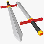 Zabawka Miecz 3d model