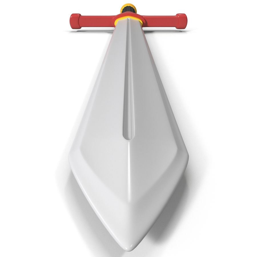 Toy Sword royalty-free 3d model - Preview no. 4
