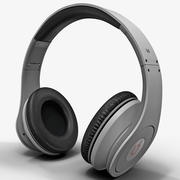 Monster Beats Studio Headphones 3d model
