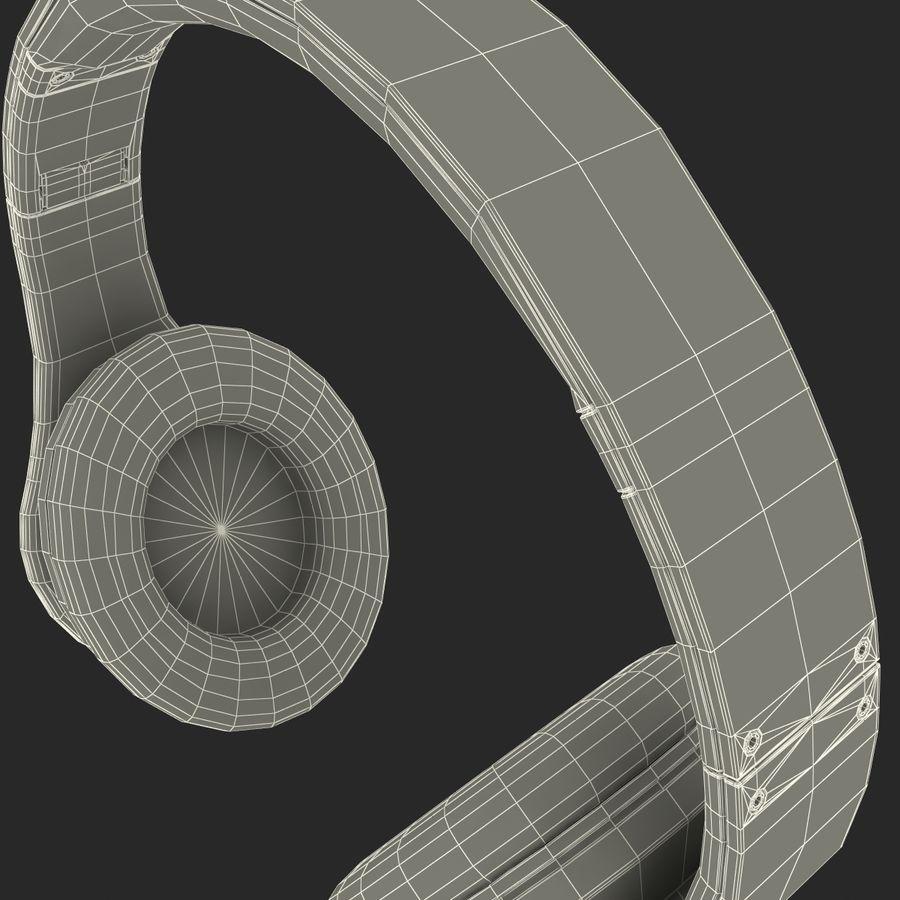 Monster Beats Studio Headphones royalty-free 3d model - Preview no. 12