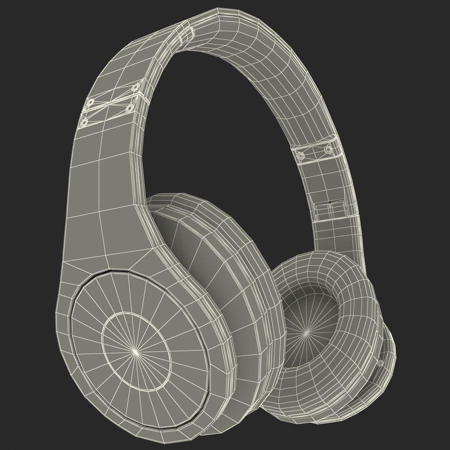 Monster Beats Studio Headphones royalty-free 3d model - Preview no. 3