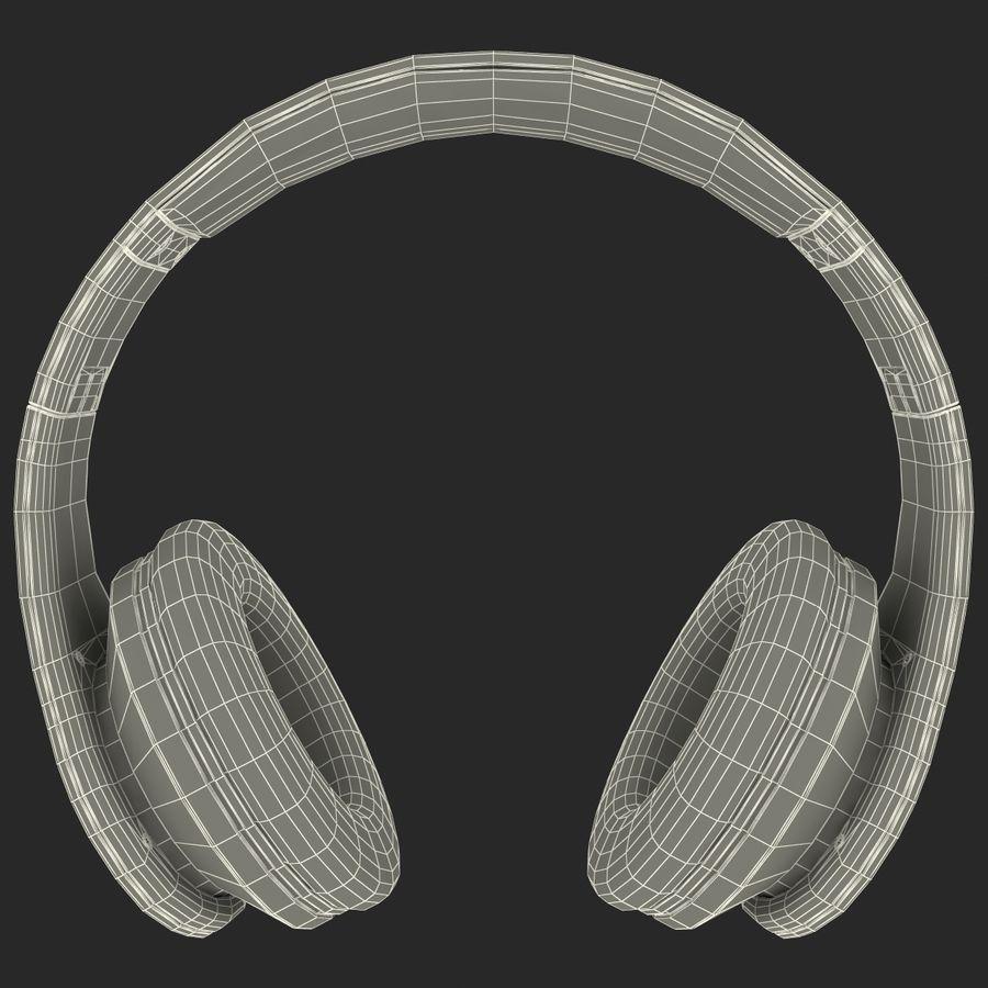 Monster Beats Studio Headphones royalty-free 3d model - Preview no. 6