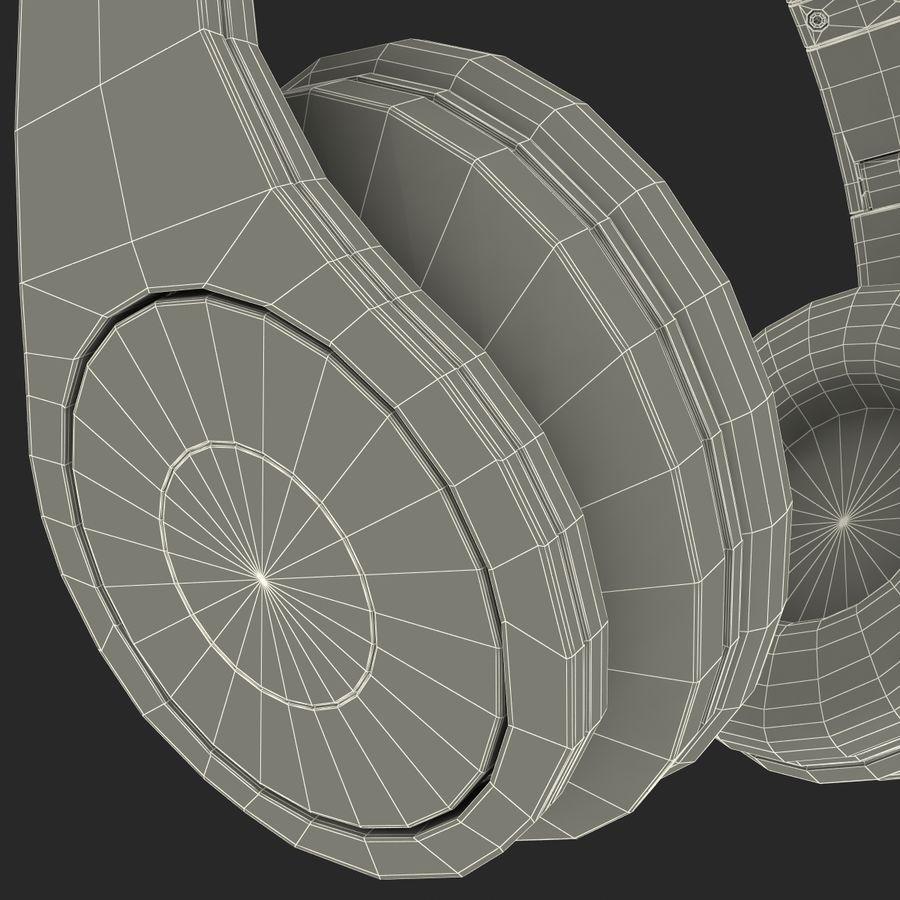 Monster Beats Studio Headphones royalty-free 3d model - Preview no. 8