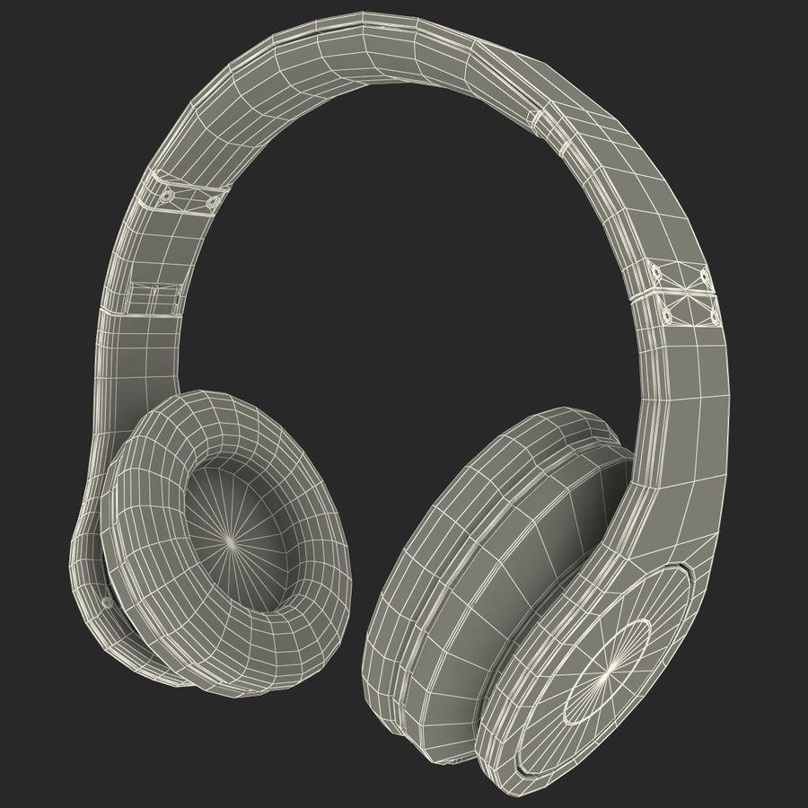 Monster Beats Studio Headphones royalty-free 3d model - Preview no. 5