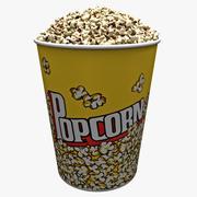 Popcorn Bowl 2 3d model