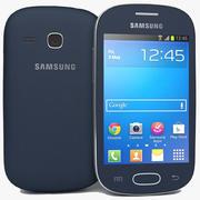 三星Galaxy Fame S6810 Lite Bule 3d model