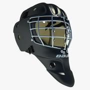 Casco da hockey su ghiaccio 03 3d model
